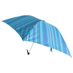 Super Light and Superfine Stripe Pocket Umbrella (53S451)