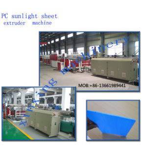 Xinxing Polycarbonate Plastic Board Extruder pictures & photos