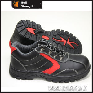 Action Leather with Rubber Outsole Low Ankle Safety Shoe (SN5297) pictures & photos