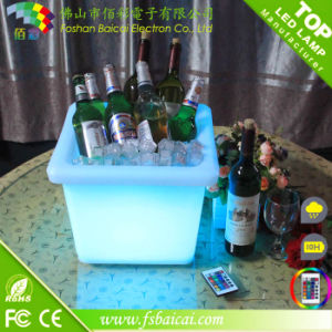 LED Illuminated Ice Bucket Light up Bucket pictures & photos