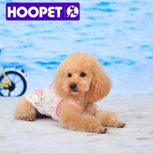 White and Pink Dog Dress and Pet Clothes Vest pictures & photos