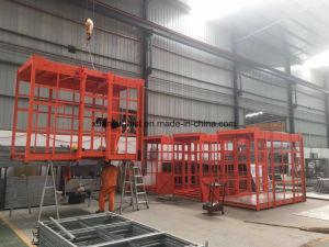 Sc200/200 2ton Double Cage Passenger Lift Construction Hoist pictures & photos