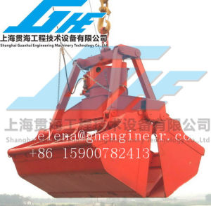 Electric-Hydraulic Grab for Handling Powder and Bulk Materials pictures & photos