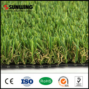 China Suppliers Cheaper Green Outdoor Garden Artificial Grass Lawn