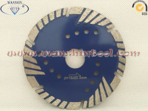 Triple Turbo Diamond Saw Blade for Sandstone Lava Rock Recinto pictures & photos