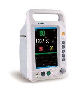 7 Inch Multi-Parameter Patient Monitor for Sale pictures & photos