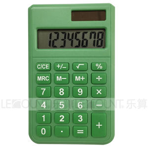 8 Digits Dual Power Pocket Calculator