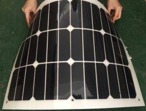 Semi Flexible Solar Panel 60W Solar Panel Flexible Sunpower Solar Panel pictures & photos