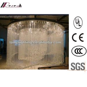 Modern Specially Hotel Decorative Large Spiral K9 Crystal Chandelier pictures & photos