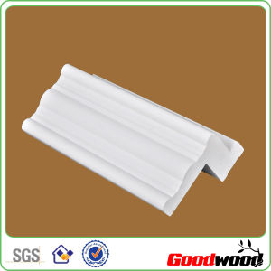 Extrusive Synthetic White PVC Plantation Shutter Components