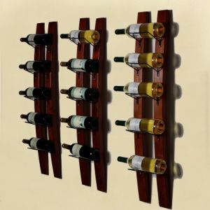 Iron Wood Wine Rack Bar Wine Rack Home Furniture Custom pictures & photos