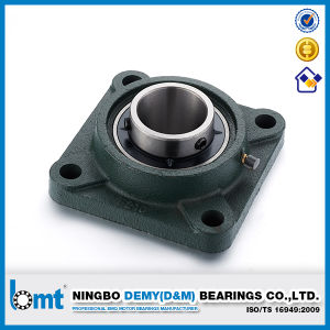 Cast Iron Housing Four-Bolt Square Flange Ball Bearing Units (UCF206) pictures & photos