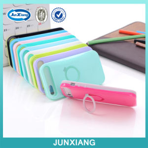Lovely Finger Holder PC+ Silicon Cell Phone Case for iPhone 6 pictures & photos
