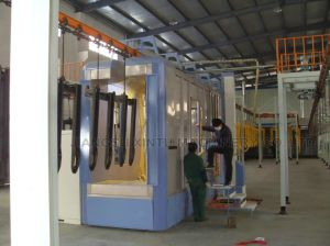 Aluminium Profile Vertical Powder Coating Line pictures & photos