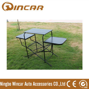 PVC Polyester Outdoor Camping Tables for Barbecue BBQ