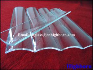 Corrosison Resistance Clear Arc Silica Quartz Glass Discs pictures & photos