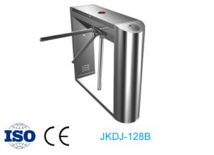 Semi-Automatic Fingerprint and RFID Access Control Tripod Turnstile pictures & photos