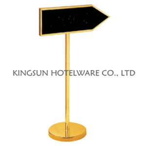 Hotel Display Caution Sign Stand (SB-913) pictures & photos