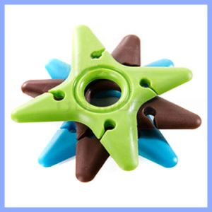 Wholesale Silicone Wire Clip Cable Clip Cable Winder Colorful Organizer Wire Clip pictures & photos