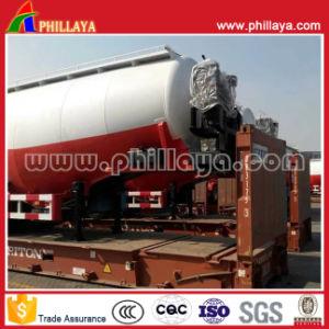 3 Axle Aluminum Wheat Flour Silo Tank Cement Bulker Trailer pictures & photos