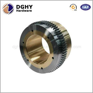 High Precision Customized Brass Metal CNC Central Machinery Lathe Parts