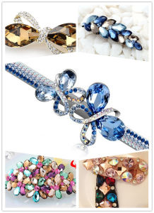 Fancy Glass Stones Beads for Hair Decoration pictures & photos