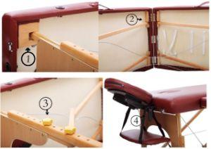 Probltal Folding Wooden Massage Table (THR-WT002C) pictures & photos
