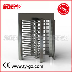 Made in China Stainless Full Height Turnstile Gate with High Quality (A-TF205+)