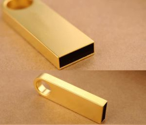 Gold Mini Metal Flash Drive with USB2.0&USB3.0 Interface pictures & photos