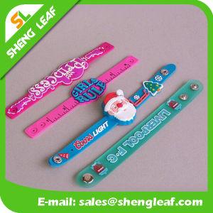 Creative 3D Vinyl Rubber Bespoken PVC Bracelet with Holes pictures & photos