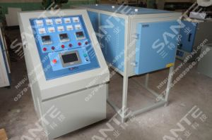 Two Panel Side-Opening Doors Annealing Furnace with Three Heating Zones pictures & photos
