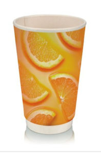 20oz Heat Insulation Double Wall Paper Cup