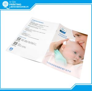 Cheap Staple Color Brochure Printing in China pictures & photos