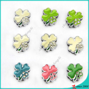 Lucky Clover Slider Charms for DIY Bracelet (SC16040948) pictures & photos