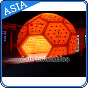 Portable and Waterproof High LED Football Shape Party Inflatable Tent pictures & photos