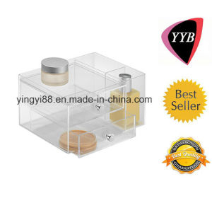 Factory Direct Sale Acrylic Cosmetic Display Shelves pictures & photos