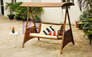 by-448 Balcony Garden Double Seats Coffee House Leisure Swing pictures & photos