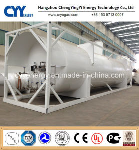 New High Quality and Low Price LNG Lox Lin Lar Lco2 Fuel Storage Tank Container pictures & photos