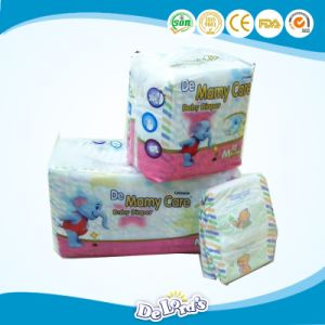 Hook & Loop Tape Soft Breathable Disposable OEM Baby Diaper pictures & photos