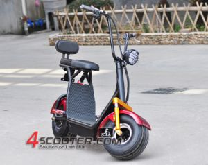 2016 500W 36V 120kg Load 2 Seats Harley Electric Scooter Es5018 pictures & photos