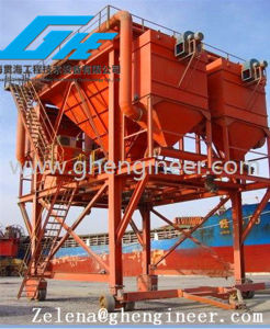 Port Mobile Type Hopper for Loading Coal Bulk Cargo with Dust Collector pictures & photos
