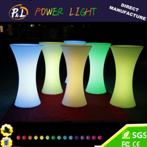 Outdoor Bar Furniture RGB Color Changing LED Table pictures & photos