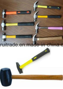 Rubber Hammer with Wooden Handle pictures & photos