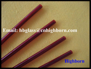 High Purity Red Fused Quartz Glass Pipeline Supplier pictures & photos