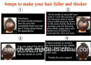 Powder Empty Bottle Jar Keratin Hair Fiber Refill Spray Thinning Loss Hair Thickening Fiber pictures & photos