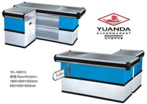 Yuanda Supermarket Cashier Counter Desk Checkout Counter pictures & photos