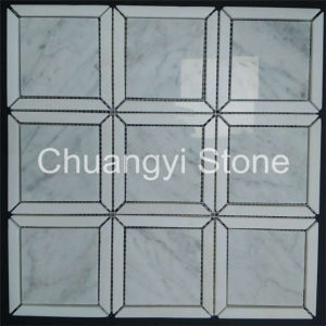 China Supplier Modern House Design Decorative Wall Panels Wall White Marble Mosaic