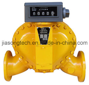 Petroleum Fuel Oil Mechanical Register Flow Meter pictures & photos