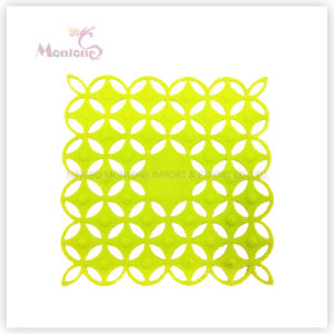 Tableware 9.5*9.5cm Silicone Dining Placemat, Table Mat, Heat Insulation Pad pictures & photos