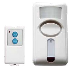 Infrared Remote-Control Alarm with PIR pictures & photos